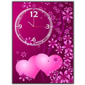 【TIME ART】靜音機芯時鐘 無框畫鐘 掛鐘  30*40*2.5cm R1-053