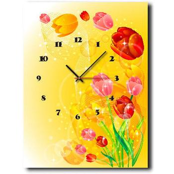 【TIME ART】靜音機芯時鐘 無框畫鐘 掛鐘  30*40*2.5cm R1-044