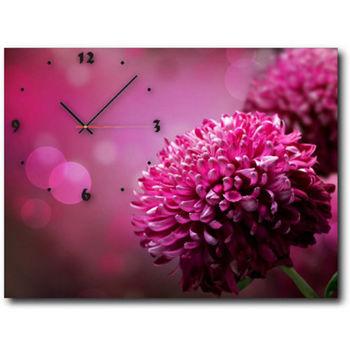 【TIME ART】靜音機芯時鐘 無框畫鐘 掛鐘  30*40*2.5cm R1-037
