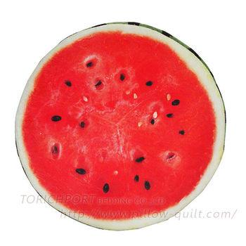 創意立體水果造型坐墊 -西瓜