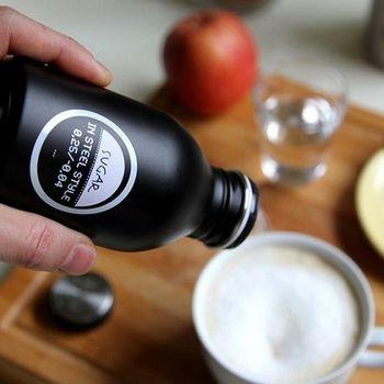 義大利 24 bottle 經典水壺造型不銹鋼調味罐 - 共兩色