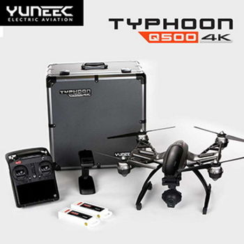 【YUNEEC】Typhoon Q500+ 4K 鋁箱版雙電池 四軸高清空拍機飛行器