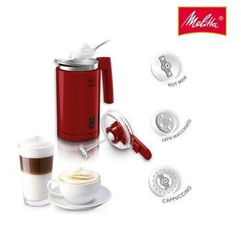 Melitta Cremio® 輕巧奶泡機 - 經典紅