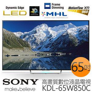 【新力 SONY】65型Full HD 高畫質液晶電視 KDL-65W850C