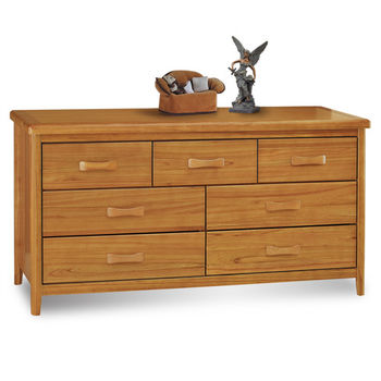 顛覆設計 絲莉愛5尺柚木實木七斗櫃