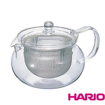 日本製造HARIO 泡茶玻璃壺700ml(附茶網) HAR-CHJ70