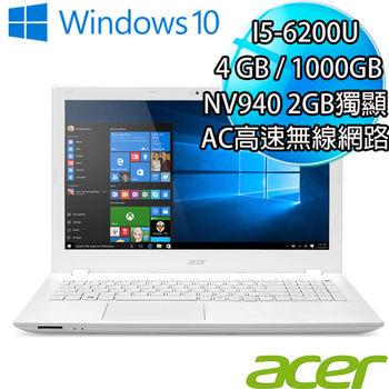 ACER 宏碁 E5-574G-544L 15.6吋 i5-6200U 1TB 獨顯NV940 2GB Win10戰鬥筆電