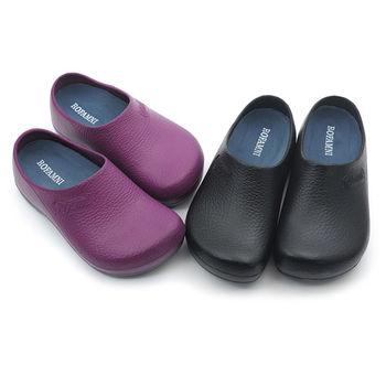 【cher美鞋】│餐飲業愛用超防滑款│機能環保鞋 (黑 紫2色)966-85
