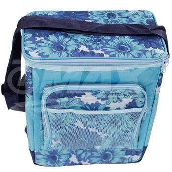 omax保冰保溫提袋-12公升-藍色