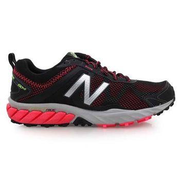 【NEWBALANCE】610系列 女慢跑鞋- 路跑 NB N字鞋 黑螢光粉紅