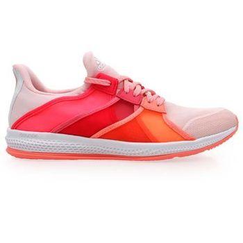 【ADIDAS】GYMBREAKER BOUNCE 女室內多功能運動鞋 橘桃紅