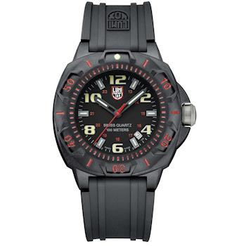 LUMINOX 雷明時 前哨系列腕錶-紅/43mm A0215