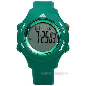 adidas 愛迪達 / ADP3232 / Performance 休閒玩色運動電子腕錶 綠色 40mm