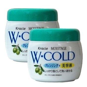 日系Kracie Moistage雙效卸粧霜270g-二入組