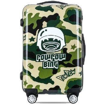 【GO TRIP 尚旅】 20吋 迷彩炮炮兵卡通行李箱/拉桿箱/登機箱
