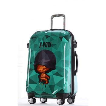 【GO TRIP 尚旅】 20吋 鑽石炮炮兵卡通行李箱/拉桿箱/登機箱