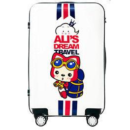 【GO TRIP 尚旅】 24吋 阿狸法國風卡通行李箱/拉桿箱/旅行箱