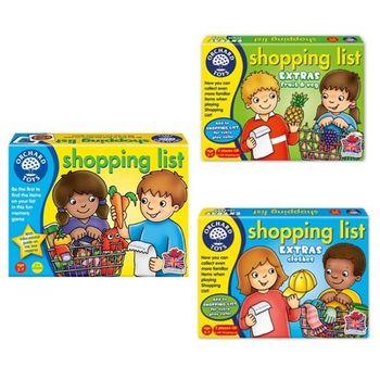 英國Orchard Toys 幼兒超市購物配對遊戲 shopping list 3盒組