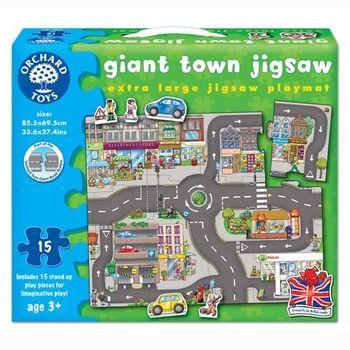 英國Orchard Toys幼兒地板大拼圖 小鎮 Giant Town Jigsaw