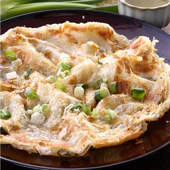 蔥阿伯 宜蘭拔絲蔥抓餅(140gx5片/包)