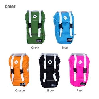 日本 Backpaker 背包造型 手機 相機 隨身 掛包 - 共5色