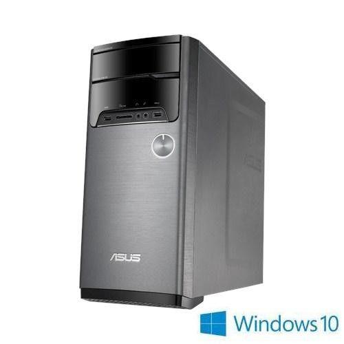 ASUS 華碩 M32CD i7-6700四核 GT730 2GB獨顯 Win10 桌上型電腦(黑灰)