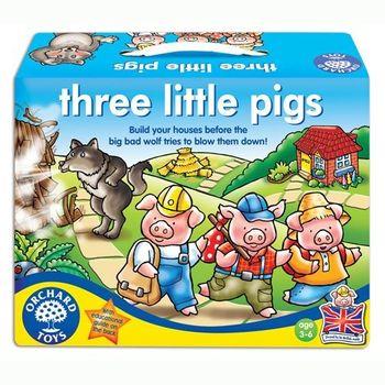 英國Orchard Toys 幼兒桌遊 3隻小豬遊戲 three little pigs