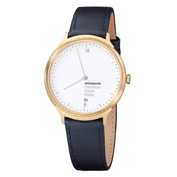 MONDAINE 瑞士國鐵設計系列腕錶 - 金/38mm