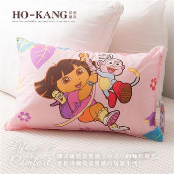 HO KANG 兒童小枕-朵拉森林粉