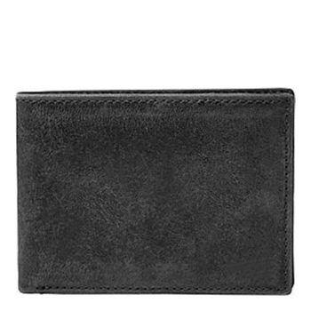 【Fossil】2016男經典仿舊Anderson黑色皮夾(預購)