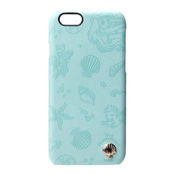 iJacket 迪士尼 iPhone 6/6s 4.7吋 皮革系列 飾扣硬式保護殼 - 小美人魚