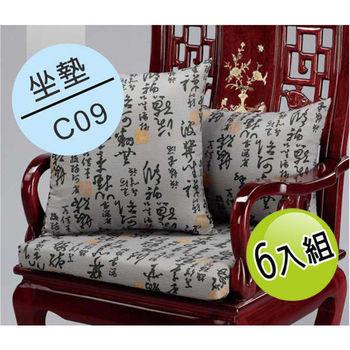 【夢幻天堂】C09仿麂皮坐墊(六入組)
