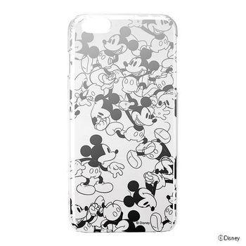 iJacket 迪士尼 iPhone 6/6S Plus 5.5吋 銀箔透明系列 硬式保護殼- 奔跑米奇