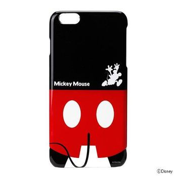iJacket 迪士尼 iPhone 6/6S Plus 5.5吋 屁屁系列 硬式保護殼- 米奇