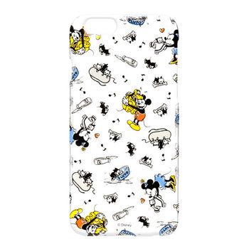 iJacket 迪士尼 iPhone 6/6s 4.7吋 塗鴉系列 透明硬式保護殼 - 米奇米妮