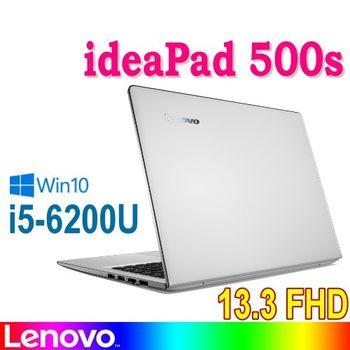 Lenovo 聯想 ideapad 500s 80Q2007XTW 13.3吋 FHD i5-6200U 128GB SSD Win10 時尚輕薄筆電 白