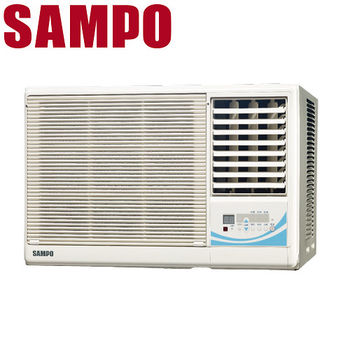 買就送【SAMPO聲寶】3-5坪定頻右吹窗型冷氣AW-PA22R