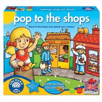英國Orchard Toys 幼兒桌遊 商店逛街購物 Pop to the Shops