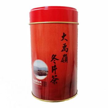 【梨池香】大禹嶺級當季嫩採冬片茶8罐贈不鏽鋼濾茶球