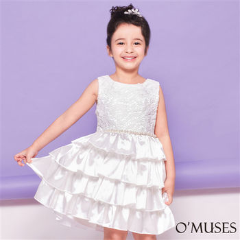 【OMUSES】法式公主蛋糕裙小禮服58-15281(100-140cm)