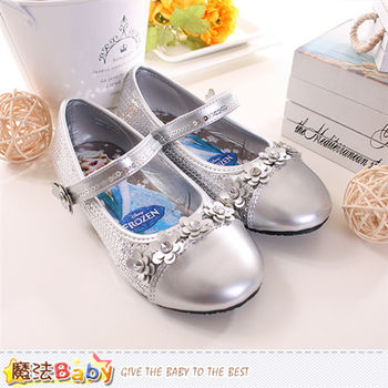 魔法Baby 女童鞋 冰雪奇緣正版公主鞋~sa64719