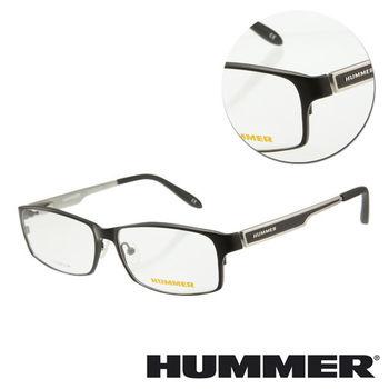 【HUMMER】鈦金屬全框黑色光學眼鏡(H1-1002-C1)