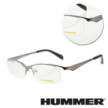 【HUMMER】鈦金屬框槍色光學眼鏡(H1-1000-C3)