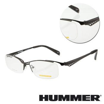 【HUMMER】鈦金屬眉框光學眼鏡(H1-1000-C1)