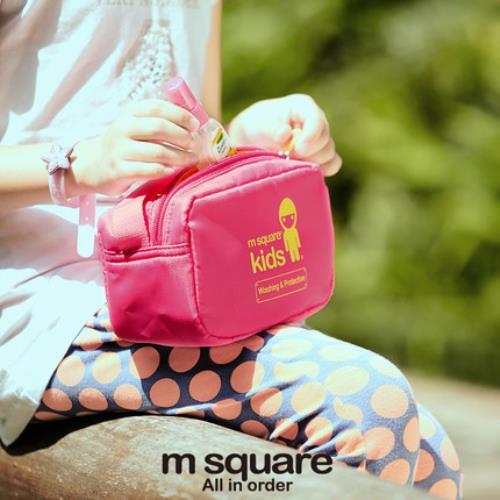【M Square kids】 兒童手提護理包 (兩色)