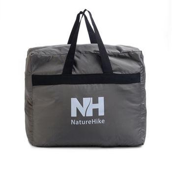 PUSH! 戶外休閒用品  露營裝備收納袋旅行包旅行袋提袋衣物包衣物袋45升(L)P83-2灰色