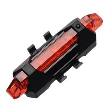 《創意生活家》充電式四段爆閃LED防水警示燈-紅光