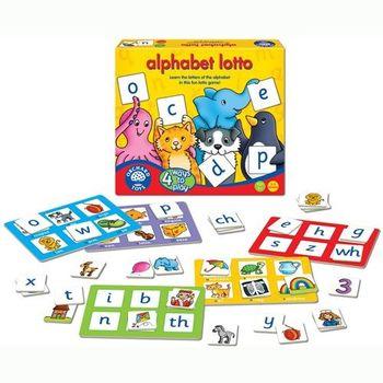 英國Orchard Toys 幼兒桌遊 學習英文配對遊戲 alphabet lotto