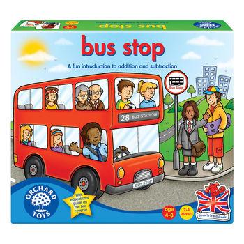 英國Orchard Toys 幼兒桌遊 幼兒上下公車遊戲 bus stops - 2016 新版