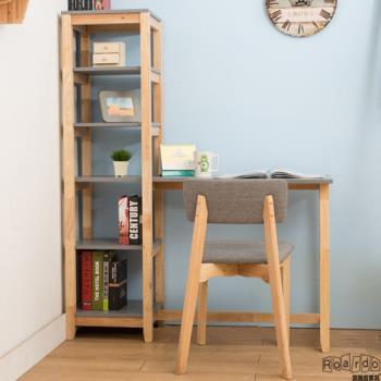 【諾雅度】原生實木L型書桌椅組